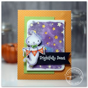 Frightfully Sweet by Jen Shuts, stamps and dies from SugarPea Designs