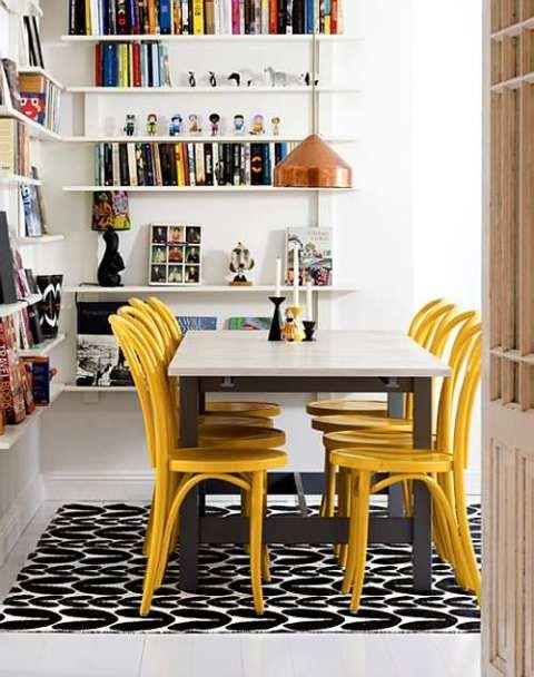 muebles-coloridos-comedor