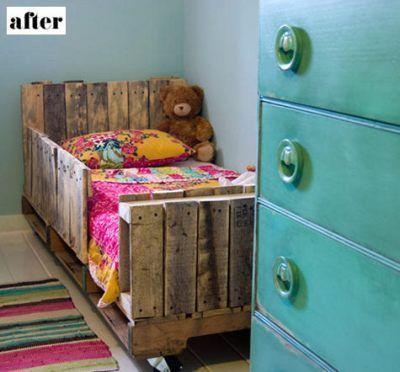 Cómo aprovechar muebles reciclados