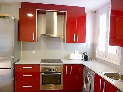 Cocina para un apartamento c mo debe ser decoracion de for Cocinas para apartamentos