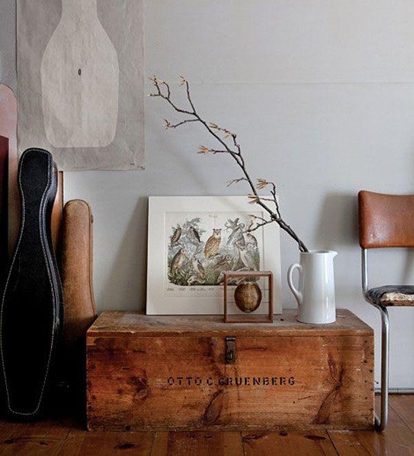 Decorar con ba les muebles - Baules para decorar ...