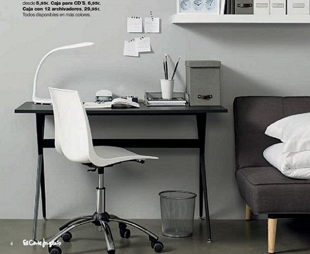 Cat logo oficina en casa en el corte ingl s espacios for Espacio casa catalogo