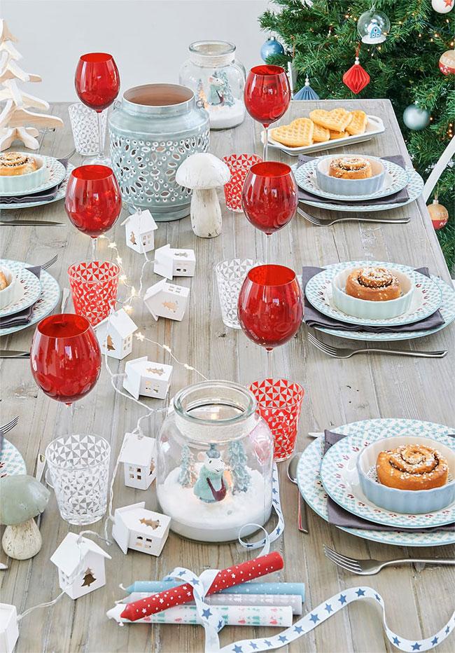 Decorar la mesa de navidad decora decora - Decorar la mesa en navidad ...
