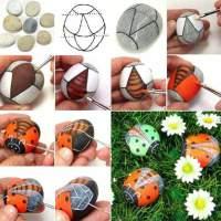 Más ideas fabulosas para decorar tu jardín con piedras de colores (Parte II)