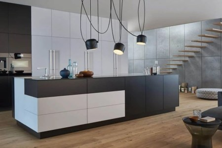 black and white modern kitchen ideas