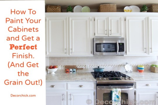 Pro secrets for painting kitchen cabinets 2017 tape and for Best way to paint inside kitchen cabinets