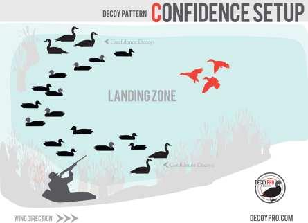 Confidence decoy spread