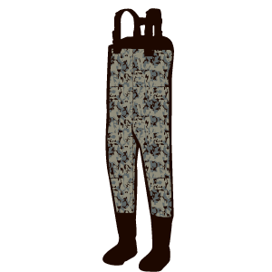 Duck Hunting Gear: Camoflauge Waders