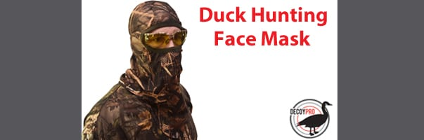 duck hunting face mask