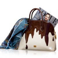 Fudge the Fashionistas , Let them eat cake: The Moschino dripping chocolate bag