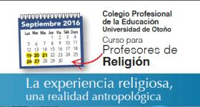 La experiencia religiosa, una realidad antropológica (Curso)