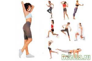 упражнения для ляшек похудения