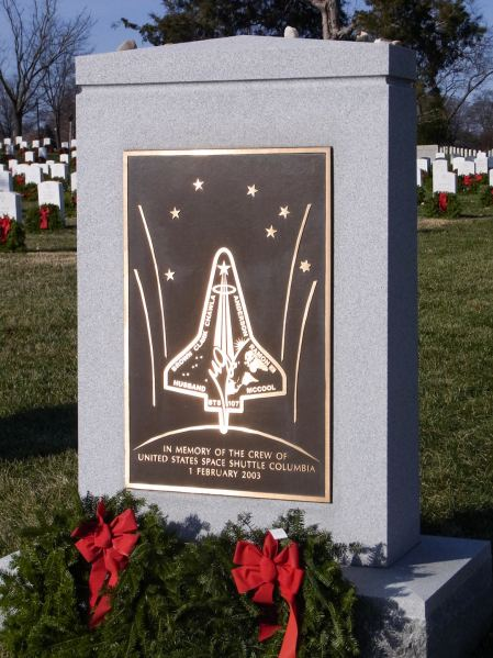 Memorial to the Space Shuttle Columbia
