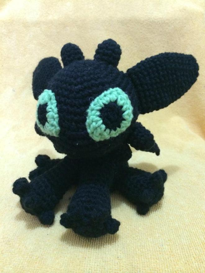 Free Crochet Patterns For Vintage Dolls : Amigurumi Toothless dnb designs