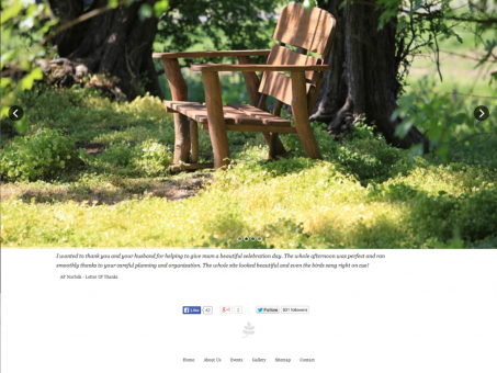 Fully responsive website launched - Respect Woodland Green Burials
