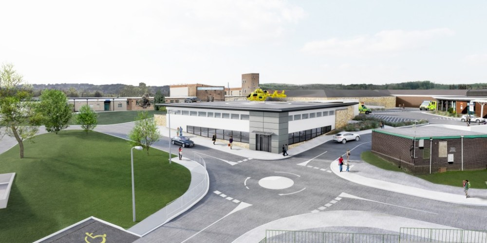 3D Visualisation for the Sheffield Helipad Appeal