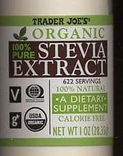 Make Your Own {Non-Processed} Stevia Extract, essential oil dropper, liquid extract, homemade, natural, green, no-side-effect, glycosides, sweetener, cooking, sweet tea, dried herb, Bulk Herb Store, DIY, Trader Joe's 100% powdered sweetener, processed, headaches, trace chemicals,