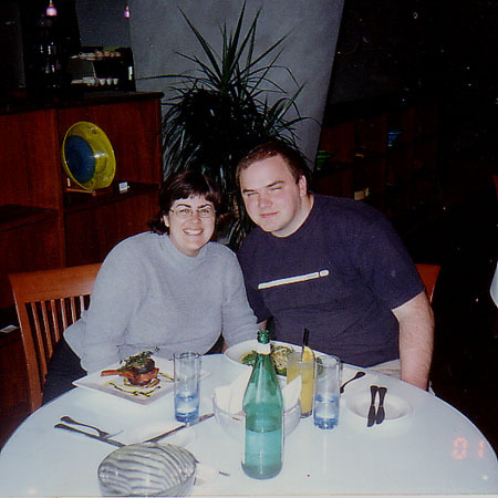 Ross and I in early 2001