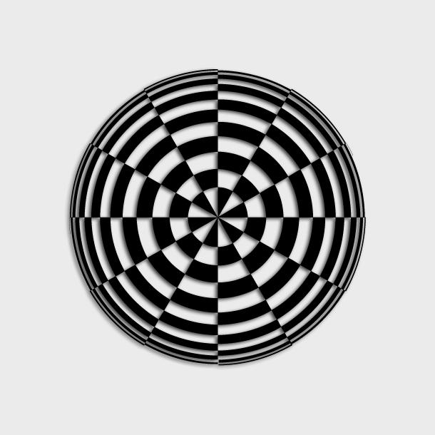 复杂对称平移设计图形