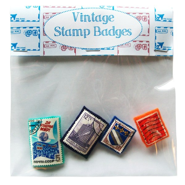 Stamp Badge Bag