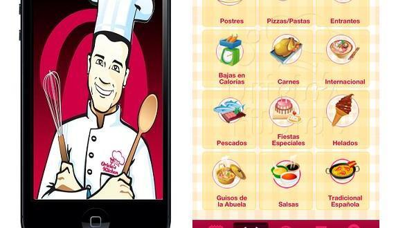 La cocina en tu móvil