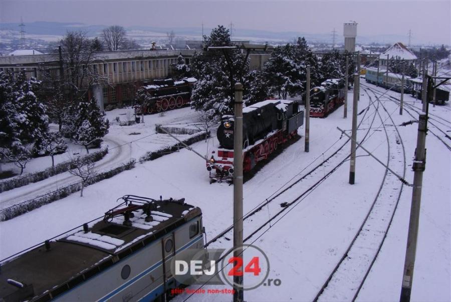 Dej Triaj locomotive tren CFR