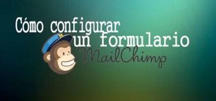 Configurar un formulario Mailchimp (popup)