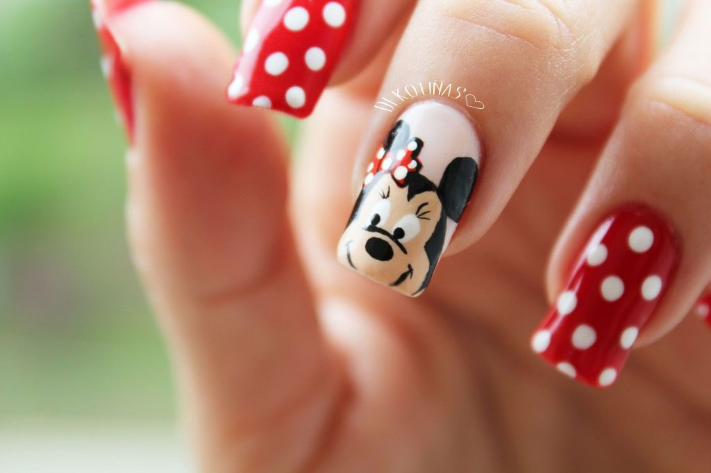 Contemporáneo Minnie Esmalte De Uñas De Ratón Fotos - Ideas de ...