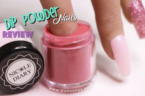 Portada Dip Powder Nails Nicole Diary