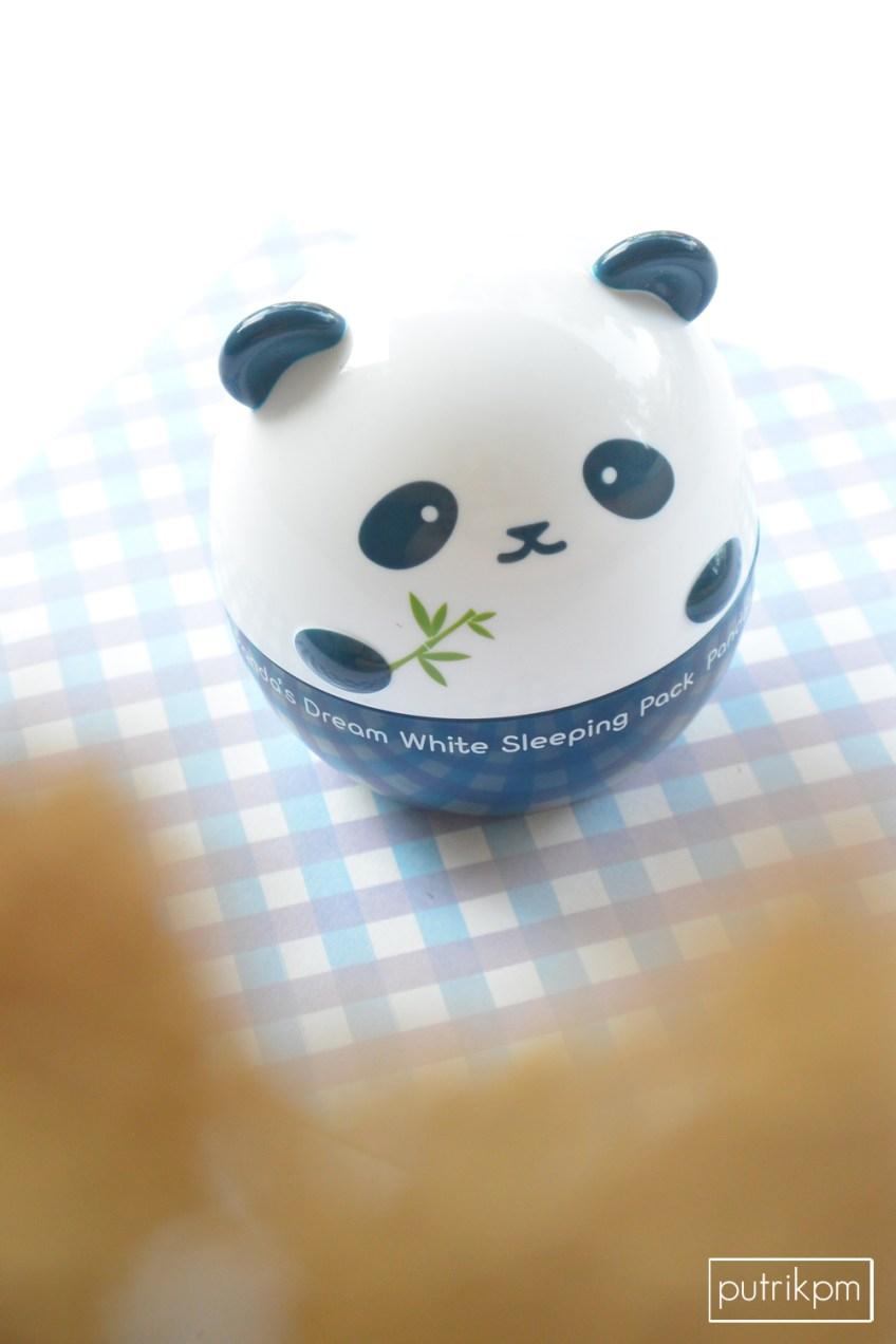 Panda Dream White Sleeping Pack Review - Delapankata 3