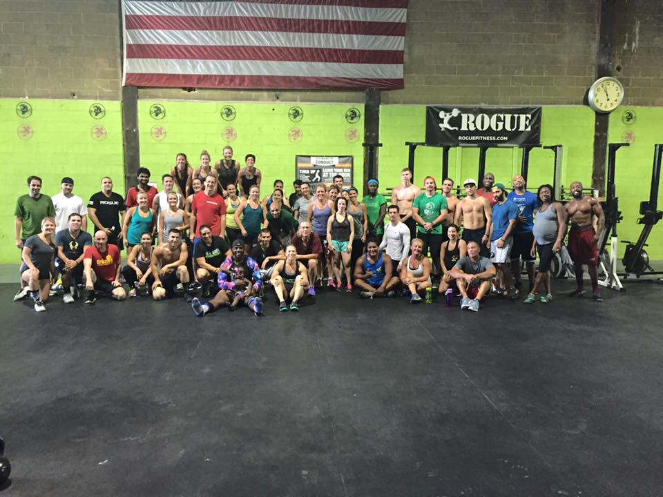 free crossfit class