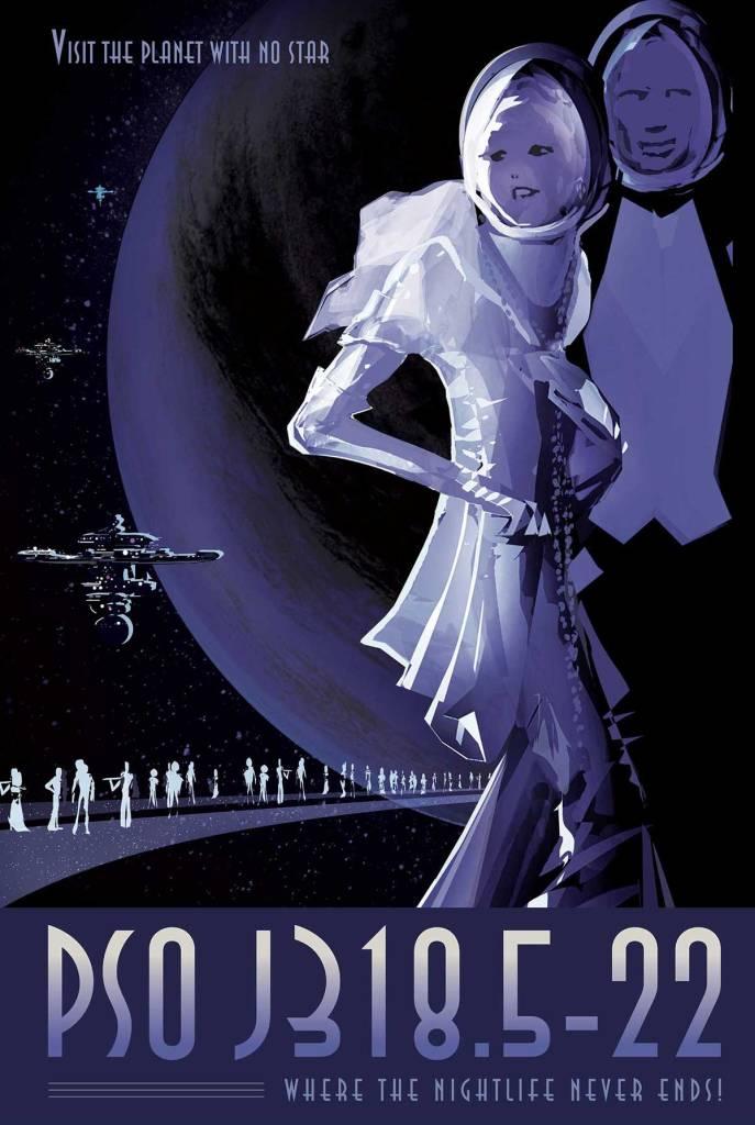 NASA travel posters