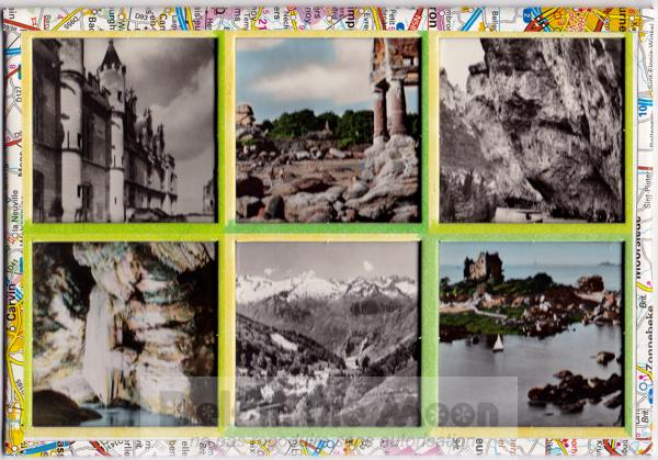 Collage touristique