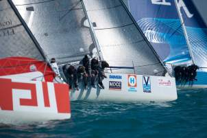 EFG Sailing Arabia - The Tour 2016. Doha. Qatar. Pictures of the start of Leg3. Doha - Khasab