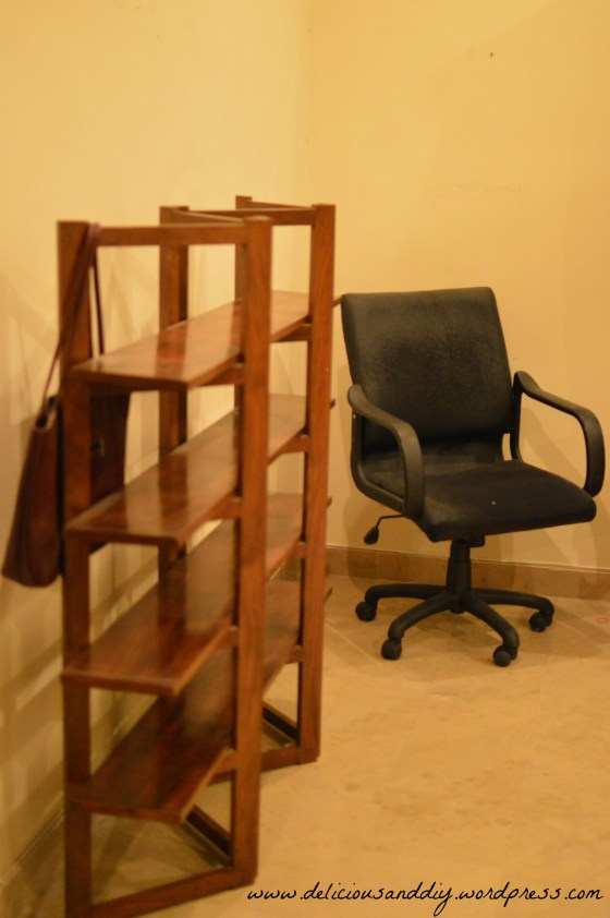 chair and divider side