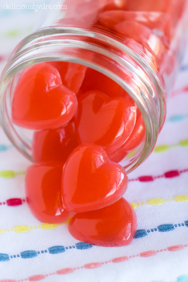 berry-lemonade protein gummies