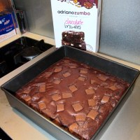 Delicious homemade chocolate brownie from Adriano Zumbo available from Woolworths