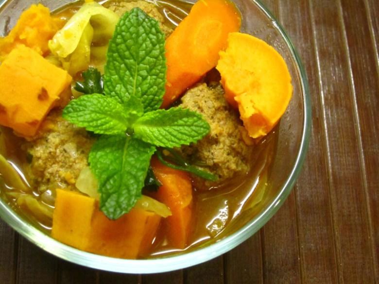 Paleo Homemade Albondigas Soup