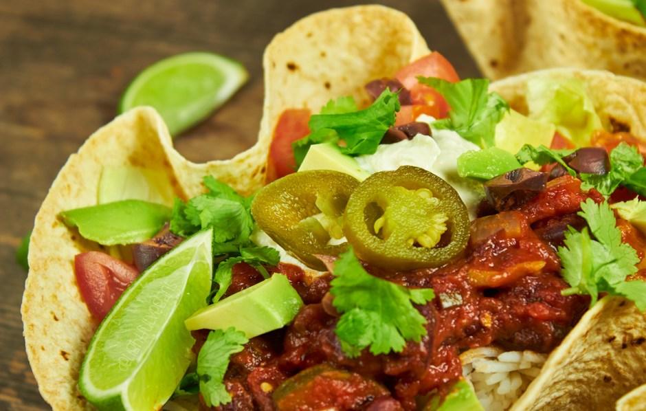 Spicy Taco Bowls