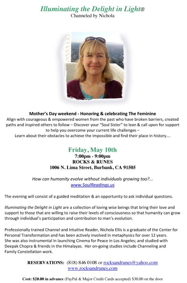 Rocks & Runes flyer - May 10