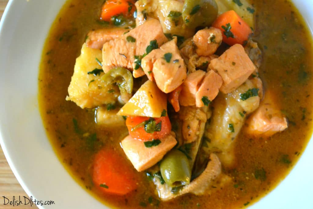 Pollo Guisado (Puerto Rican Chicken Stew)