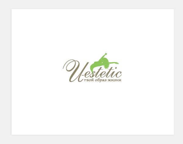 Логотип для фитнес-студии «U-Estetic»
