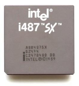 Intel i487 SX