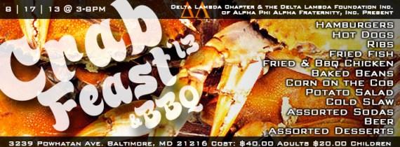 Delta Lambda Crab Feast