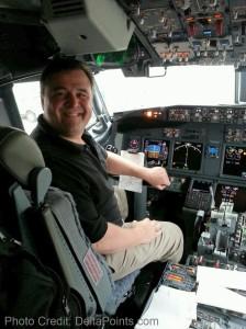 rene deltapoints blog - on delta 737-900 jets first flight