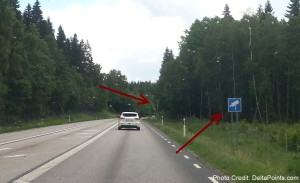 warning speed camera in sweden delta points blog