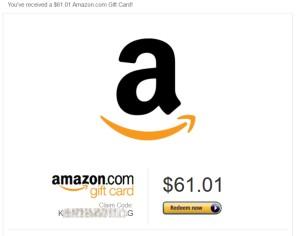 61 dollar amazon swag saturday giveaway