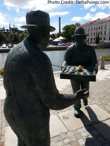 Lufthansa world cup duck out and about in gothenburg sweden delta points blog (2)
