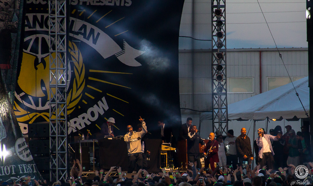 Wu-Tang Clan at Riot Fest 2015