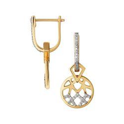 Small Crop Of Diamond Drop Earrings